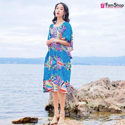 Shop váy maxi đi biển ở Hoàng Mai