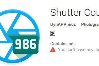 Aplikasi Untuk Cek Shutter Count Kamera