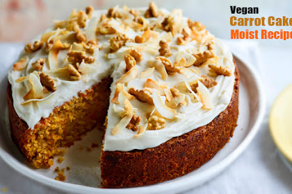 Vegan Carrot Cake moist Recipe