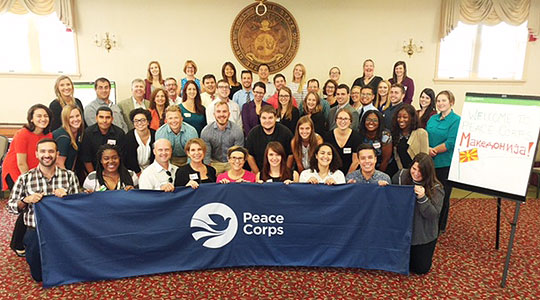 Fifty new US Peace Corps volunteers arrive in Macedonia