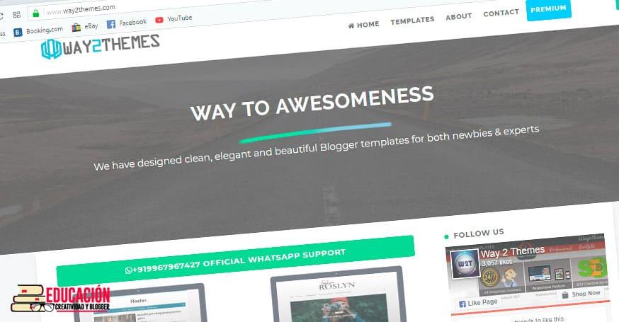 plantillas blogger profesionales gratis waythemes