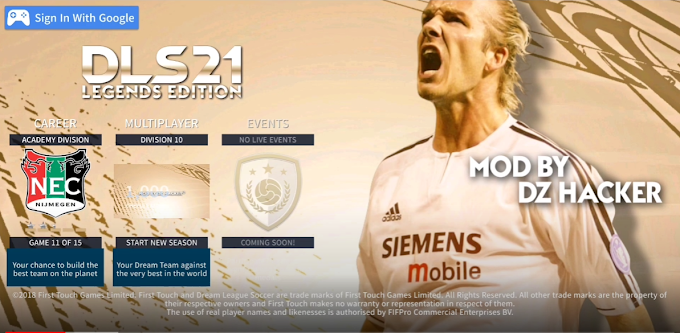 Dream League Soccer 2021 Mod Download For Android (Apk+Data+Obb) Unlimited Free Coins