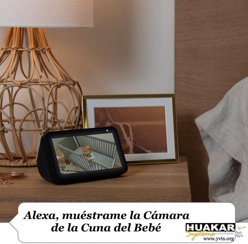 Huakar YVTS y Alexa hacen tu vida en el hogar más fácil