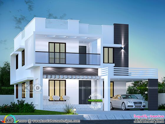 Modern 4 bedroom house 2550 square feet
