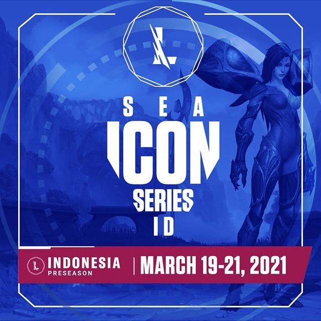 League of Legends Wild Rift SEA Icon Series Pre-Season