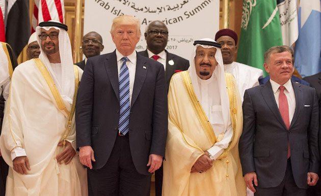 Trump Membahas Iran dalam Panggilan Telepon dengan Pemimpin Saudi dan UEA