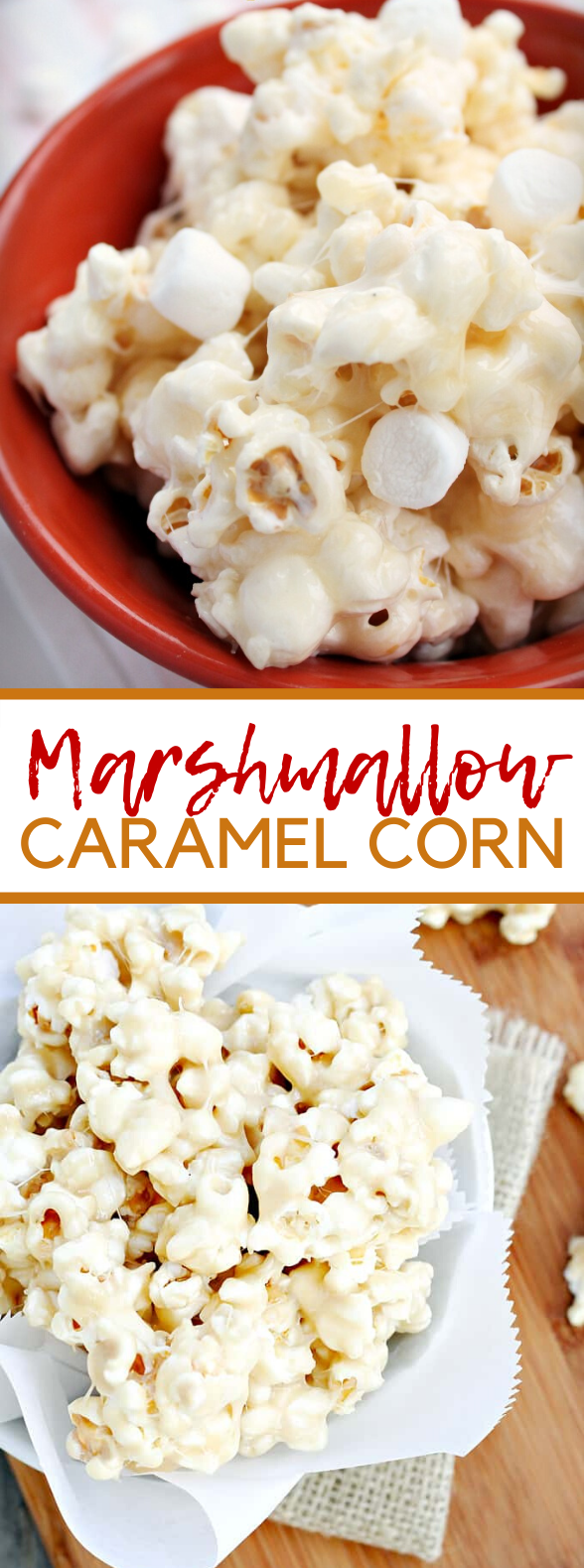 MARSHMALLOW CARAMEL CORN #desserts #sweets