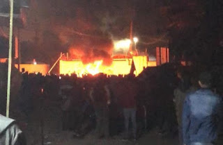 Massa Bakar Gedung Konsulat Iran di Najaf, Irak