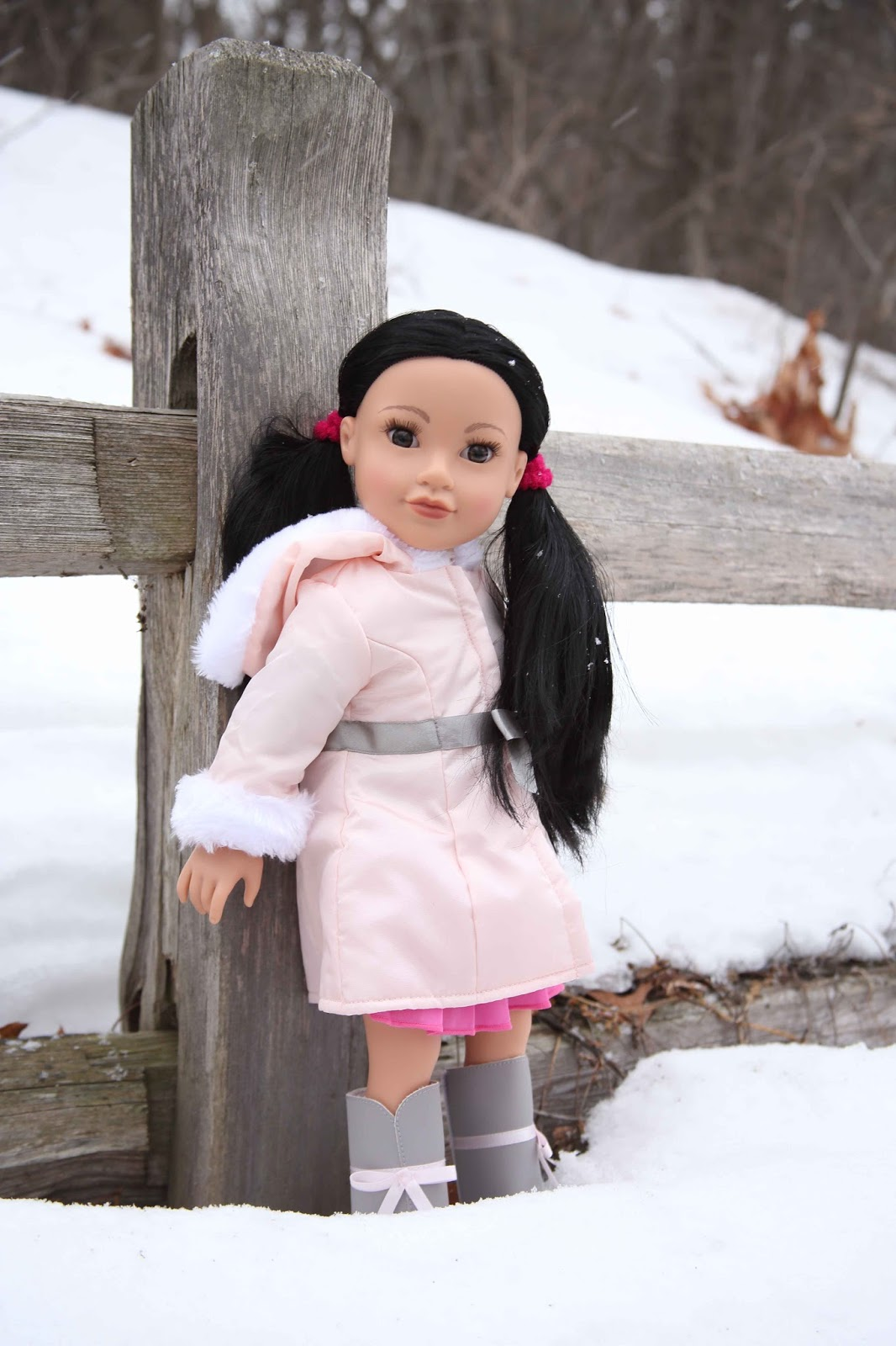 910e35e0d688 My Journey Girls Dolls Adventures  Callie Out in the Snow