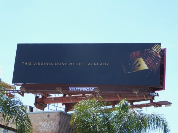 Virginia Black done me off already billboard