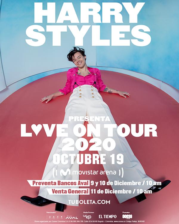 Harry-Styles-concierto-Bogotá-gira-Love-On-Tour-agenda-2020-octubre