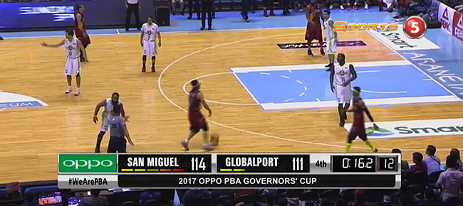 San Miguel def. GlobalPort, 115-112 (REPLAY VIDEO) August 25