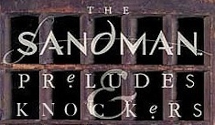 The Sandman: Preludes and Knockers logo