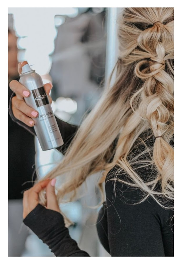 Best dry shampoo   how to apply On Natural Hair. 2019