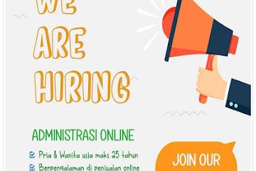 Lowongan Kerja Karyawan Administrasi Online Kotaksayur.com