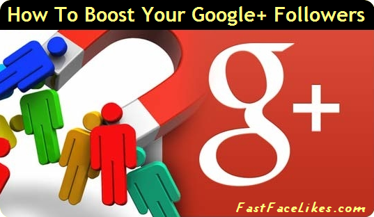 Boost Your Google Plus Followers