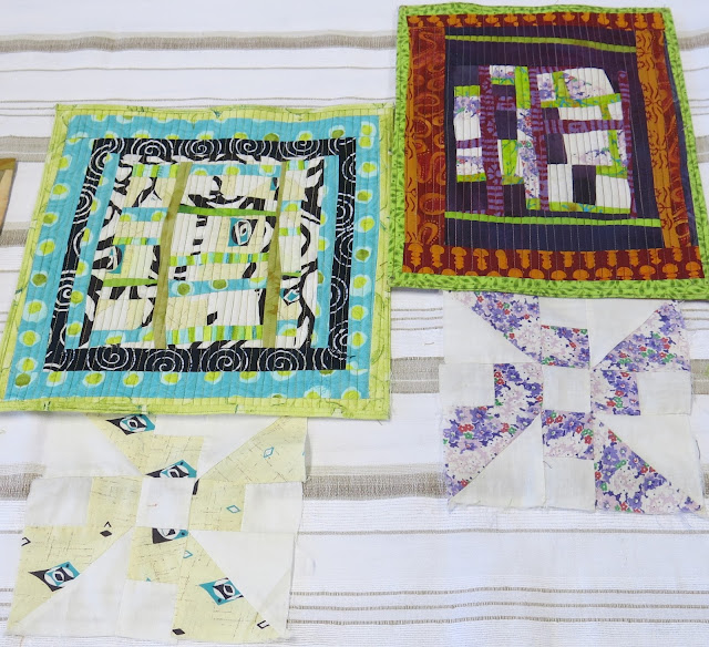 Luna Lovequilts - Mini quilts made by Rayna Gillman