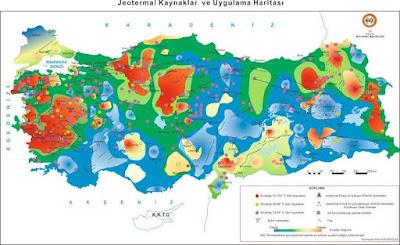 Türkiyenin Jeotermal Enerji Kaynakları