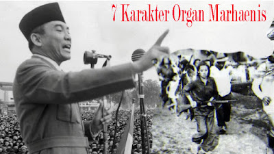 7 Karakter Organ Marhaenis / Catatan adi / Catatanadiwriter.blogspot.com