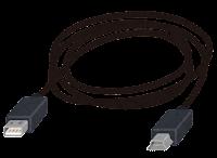 miniUSB端子の付いたケーブルのイラスト2