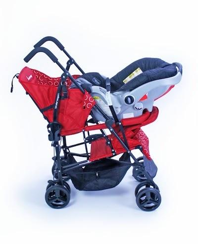What I found out: Kinderwagon Hop Tandem Umbrella Stroller