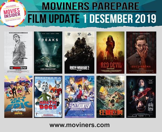 FILM UPDATE 1 DESEMBER 2019