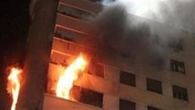 """انفجار بارود.. مصرع وإصابة 5 أشخاص في انهيار سقف غرفة بـ""""أكتوبر"""""""