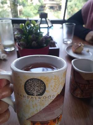 sarapan hotel sandalwood