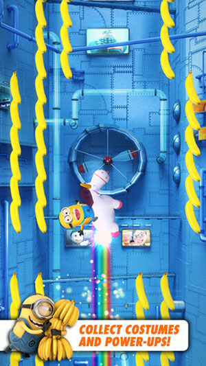 Despicable Me: Minion Rush game for Android Tablet