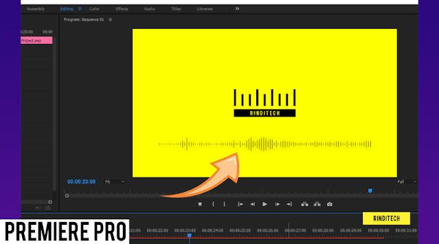 Cara Menambahkan Animasi Audio Equalizer di Premiere Pro (Audio Spectrum)