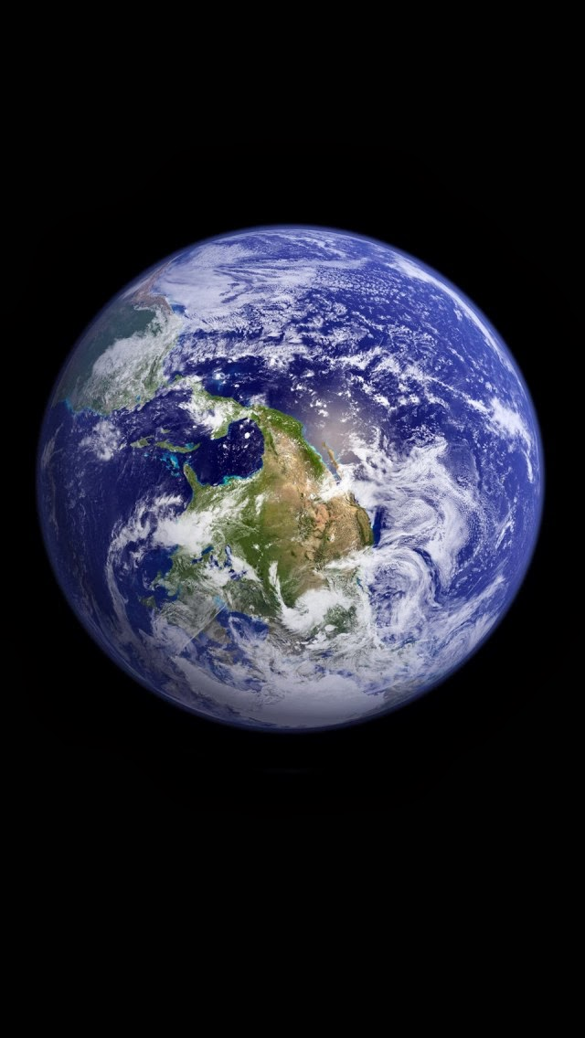 Top Blackberry Themes Free: iphone 5 earth wallpaper