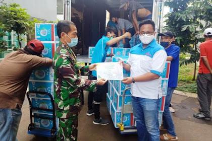 Bantuan Mayora Untuk Kesehatan Masyarakat di Tengah Pandemi Covid 19