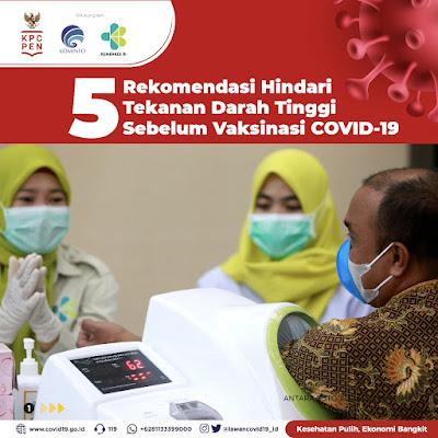 dr.Reisa Bagikan 5 Tips Hindari Tekanan Darah Tinggi Sebelum Vaksinasi COVID-19