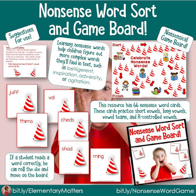 https://www.teacherspayteachers.com/Product/Nonsense-Word-Card-Sort-and-Board-Game-549557?utm_source=syllables%20blog%20Post&utm_campaign=Nonsense%20Word%20Game