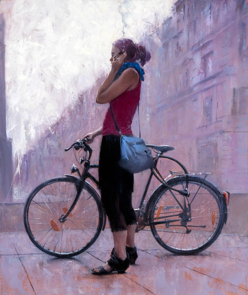 "Paintings By British Artist ""David FeBland"""