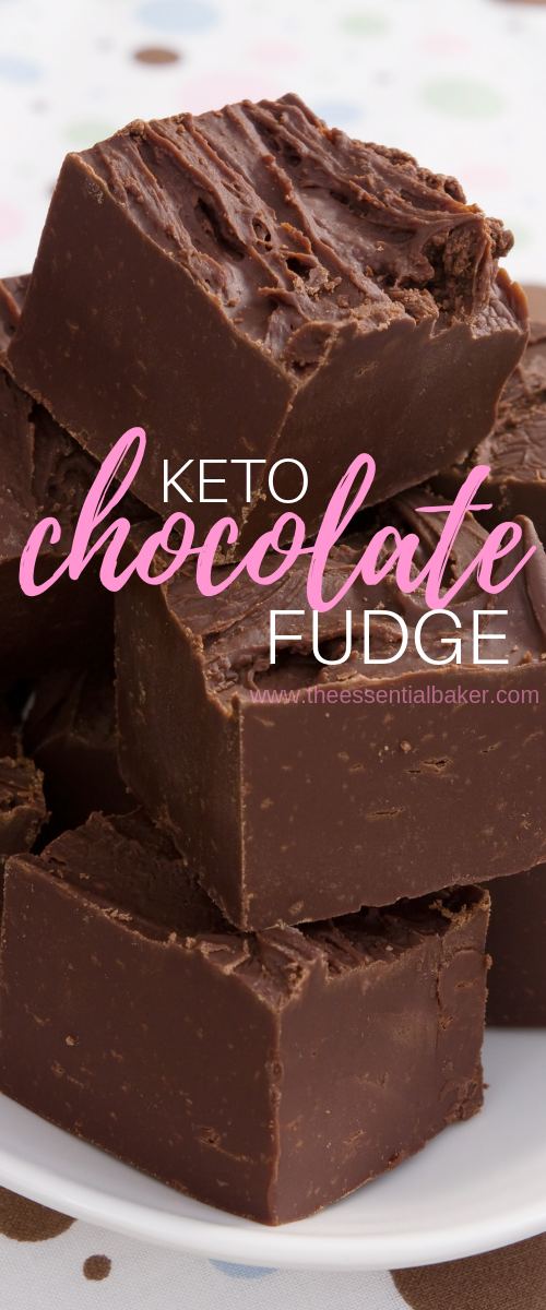 Keto Low Carb Chocolate Fudge Recipe