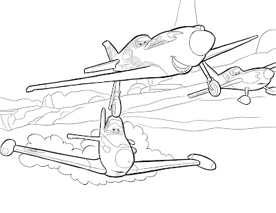Planes Coloring Pages For Kids Colours Drawing Wallpaper