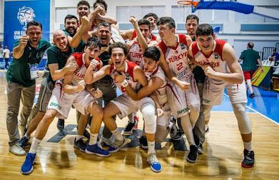 FIBA U18 Europe - Türkiye - Genç Milli Takım yarı finalde