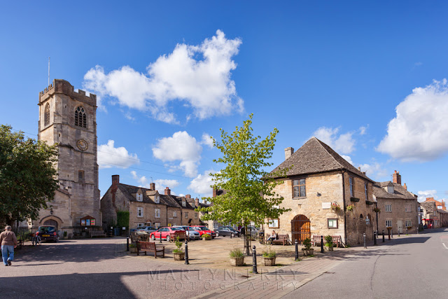 The Square in Eynsham village in Oxfordshire by Martyn Ferry Photography