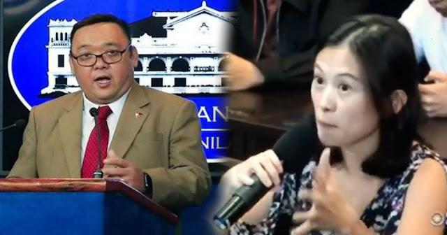 Pia Ranada Prangkahang tinanong si Harry Roque tungkol sa Paid troll at Paid Fake News