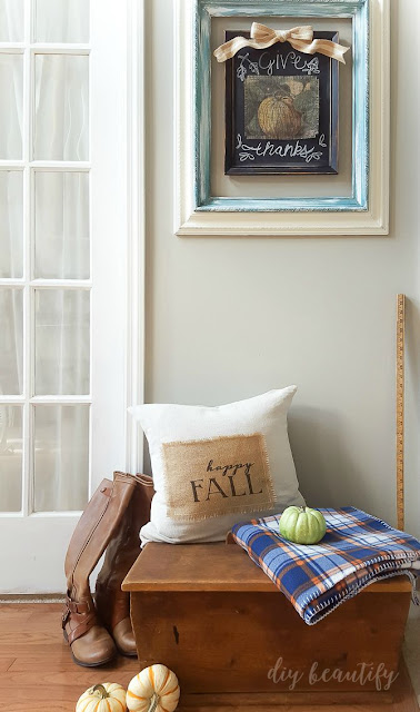 printing on burlap | diy beautify