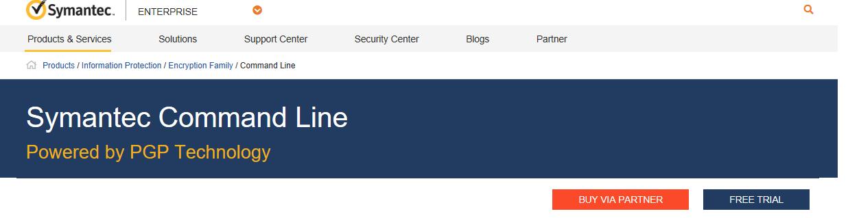 Be Alpha: Symantec PGP Command Line Tutorial
