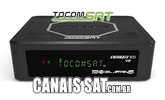 Tocomsat Combate HD VIP Atualização DRMCAM V2.007 - 28/12/2020