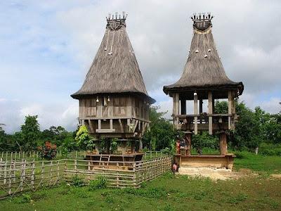 Architettura tradizionale Timor Est