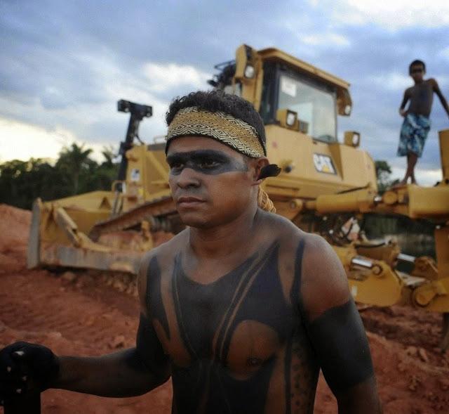 Luta do indigenismo miserabilista contra o progresso 'devastador'