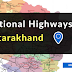 National Highways in Uttarakhand