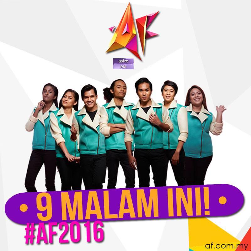 Lagu Baru AF2016 & Muzik Video AF2016