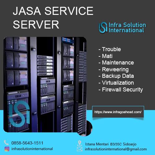 Jasa Service Server Jayapura