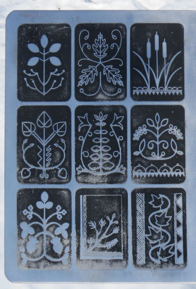 Seneca Indian plant symbols