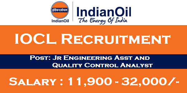 Indian Oil Recruitment, IOCL Career, IOCL Jobs